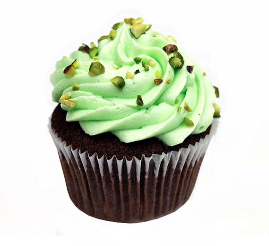 Chocomint Cupcake